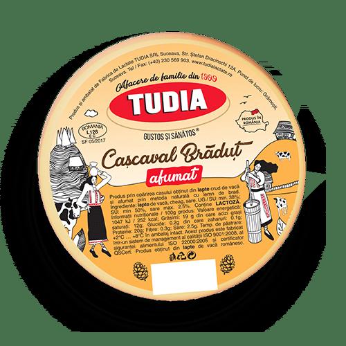 cascaval_Tudia_bradut_afumat