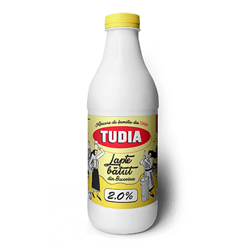 lapte batut tudia