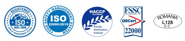 Tudia LACTATE ISO Certificates