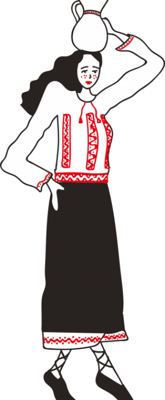 personaje-tudia-fata-cu-ulcior-bucovina-traditional